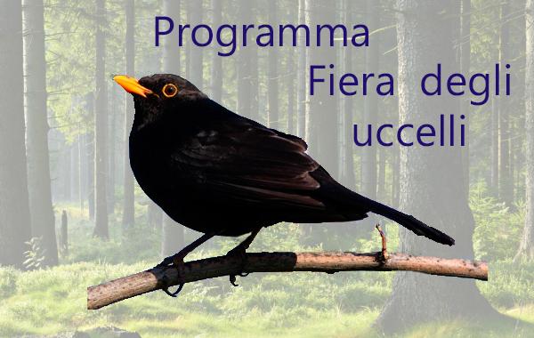 Programma Fiera degli uccelli 2016